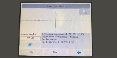 Metal Detector Calibrations